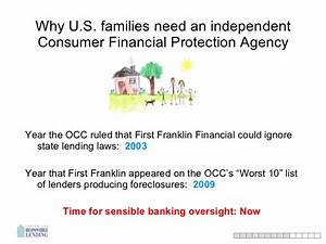 Why We Need a Strong Consumer Financial Protection Bureau