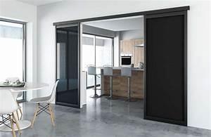 sogal vous aide a amenager votre interieur With porte de garage coulissante de plus porte À galandage