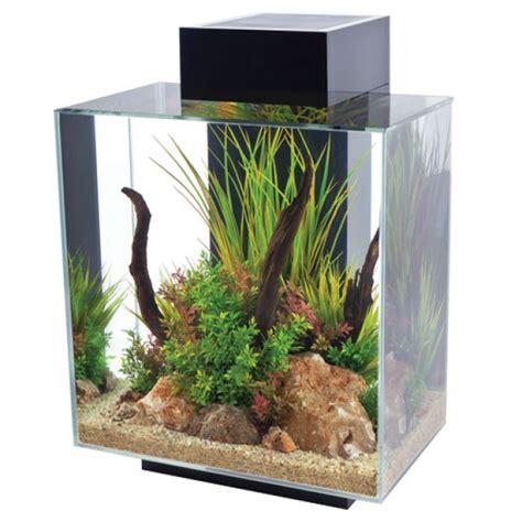fluval tanks fluval edge 12 gallon black aquarium 15391 fish tanks direct