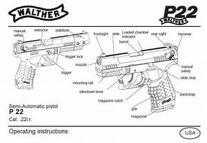 Walther P22 Pistol Owners Instruction And Maintenance