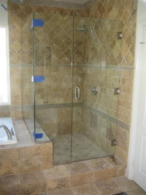 Bathroom Shower Enclosures With Seat by Small Shower Enclosure With Small Bench Seat Tile All The