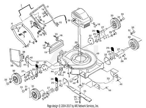 Poulan Mower Wiring Diagram by Lawn Mower Parts Diagram 1 Wiring Diagram Source