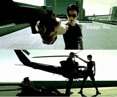 Matrix Quotes Dodge Famous Trinity Carrie Neo
