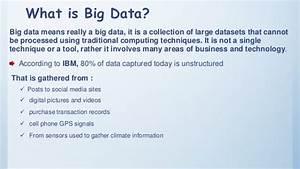 Hadoop And Big Data