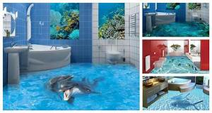 bathroom flooring close to reality d floor designs with With kitchen cabinets lowes with fish hippie sticker