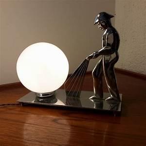 Lampe Art Deco : lampe pompier art d co moderniste lampodrome ~ Teatrodelosmanantiales.com Idées de Décoration