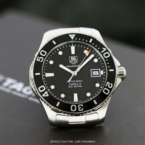 pre owned tag heuer aquaracer automatic wanba