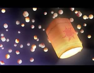 Tangled Floating Lanterns Desktop Wallpaper