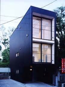Narrow Homes Japanese Prefab Narrow House Japanese Architecture Prefab Homes Small Houses
