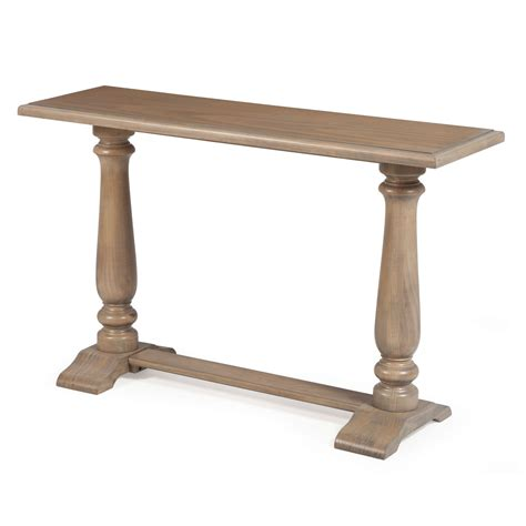 Driftwood Contemporary Classic Console Sofa Table With
