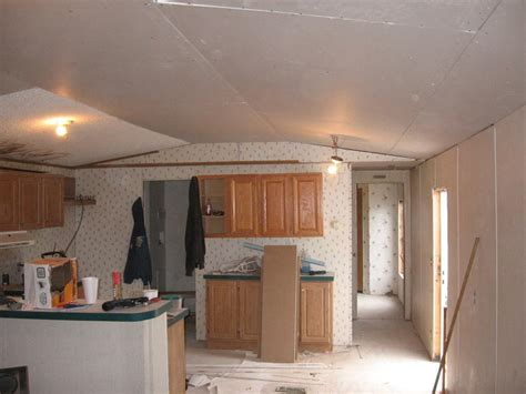 Mobile Home Ceiling Replacement Mobile Home Maintenance 15