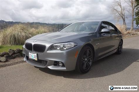 2015 Bmw 5-series 550i 4dr Sedan For Sale In United States