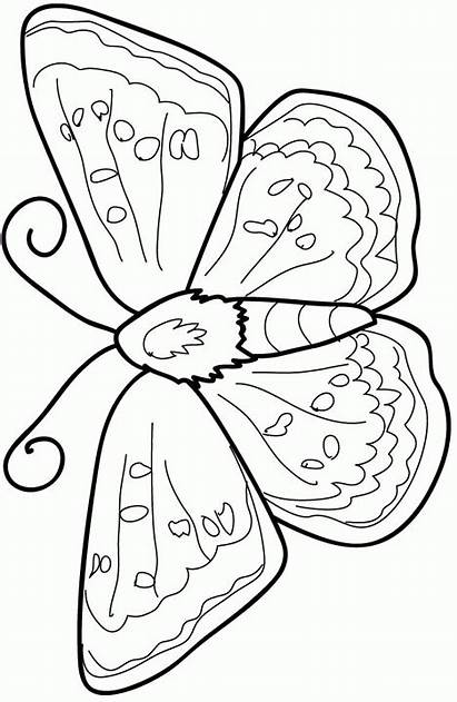 Coloring Kleurplaat Fun Dieren Kleurplaten Animals Vlinder
