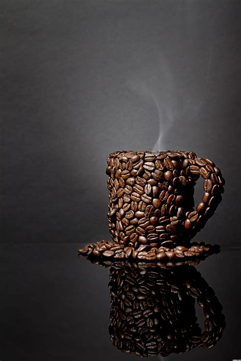cup  coffee picture  captgeo  full  beans