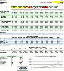 lots of resources for value investors using discounted With discounted cash flow analysis excel template