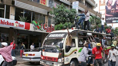 Kenyans In Nairobi Protest Over New Taxi Fees