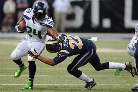 seahawks marshawn lynch expected  play  knee