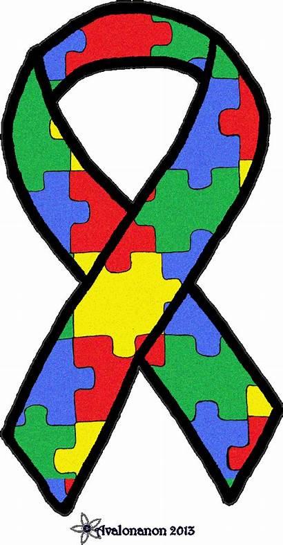 Autism Ribbon Glitter Deviantart