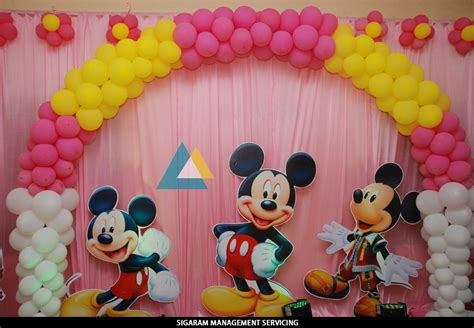 Birthday Party Decoration At Home-themed Birthday