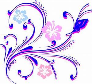 Flower Butterfly Clip Art at Clker.com - vector clip art ...