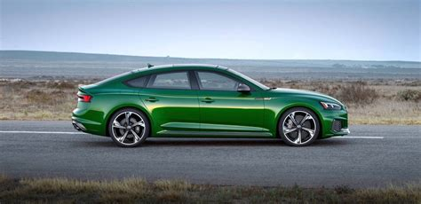 2019 Audi Rs5 Sportback Speeds Into New York With 444 Hp