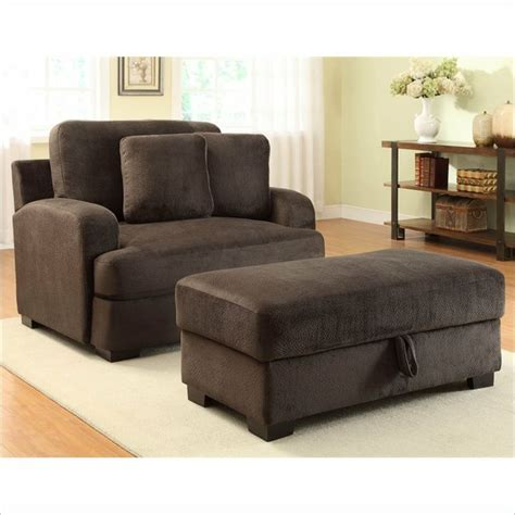 oversized chair chair and ottoman set and chairs on