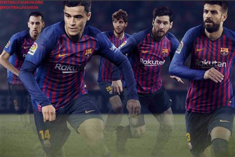 All information about fc barcelona (laliga) current squad with market values transfers rumours player stats fixtures news. FC Barcelona 2018/19 Nike Home Kit - FOOTBALL FASHION.ORG