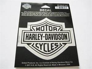 Harley Davidson Aufkleber : harley davidson bar shield logo aufkleber chrom mittel 9 ~ Jslefanu.com Haus und Dekorationen