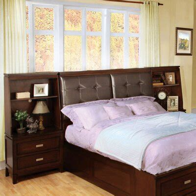 plans bookcase headboard king size  woodworking