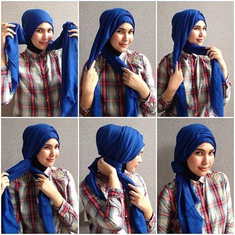 images  simple hijab tutorial  pinterest