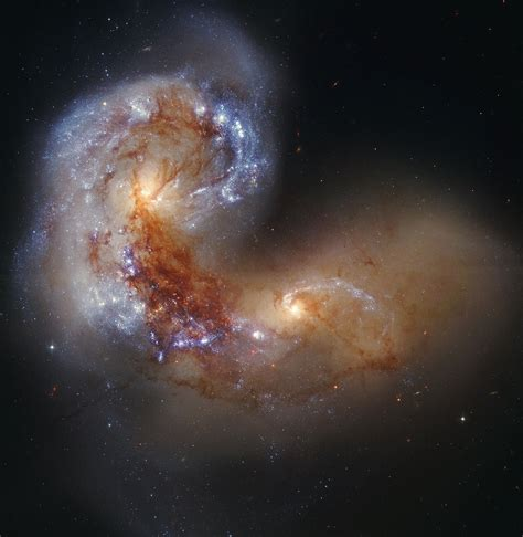 Ngc 2608 is a spiral galaxy in the cancer constellation. APOD: 2012 August 12 - Spiral Galaxy NGC 4038 in Collision