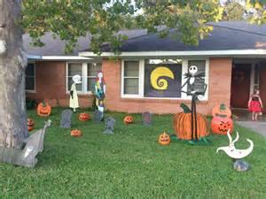 nightmare before christmas halloween yard art candace s