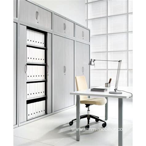 classeur metallique bureau armoire classeur pv amt plus avec portes rideaux aluminium