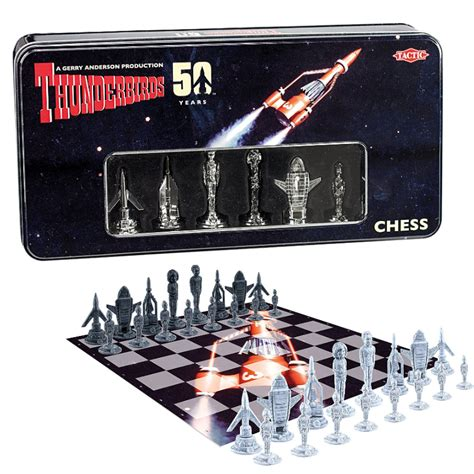 thunderbirds classic 50th anniversary chess set exclusive