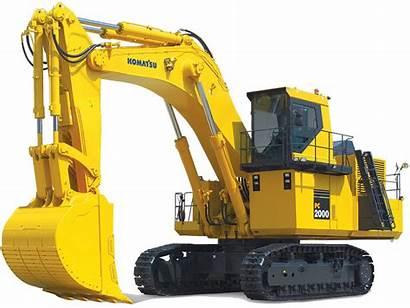 Excavators Komatsu Excavator Mining Clipart Loader Mini