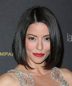 Emmanuelle Vaugier Medium Straight Formal Bob Hairstyle ...