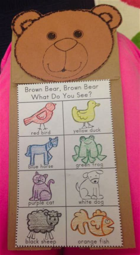 47 best brown activities images on 439 | e1a88aed953ac9167ceece7a2a67fafb bear theme preschool preschool colors