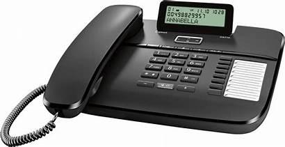 Gigaset Telefon Da710 Analog Svart Uttag Handsfree