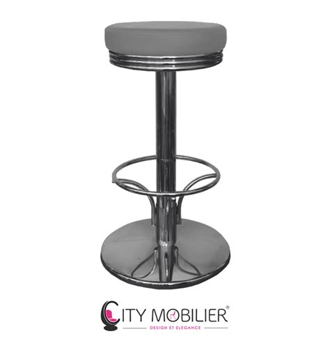 tabouret haut de bar kate city mobilier