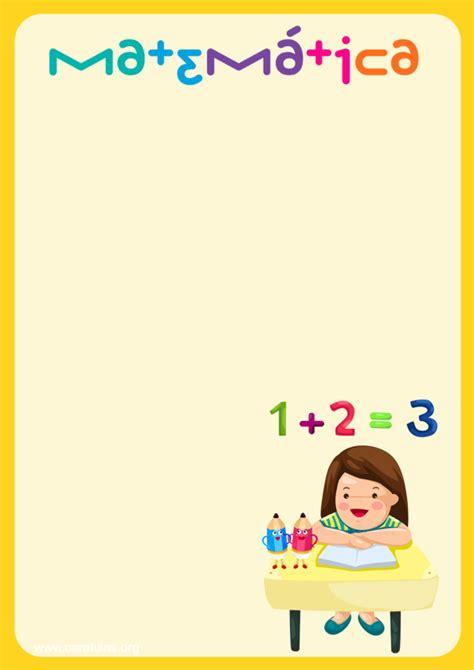 caratulas para cuadernos de matematica para jovenes las mejores caratulas de matem 225 ticas