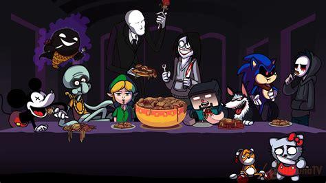 Adventure Time Minimalist Wallpaper Top 10 Mejores Creepypastas Especial Halloween Youtube