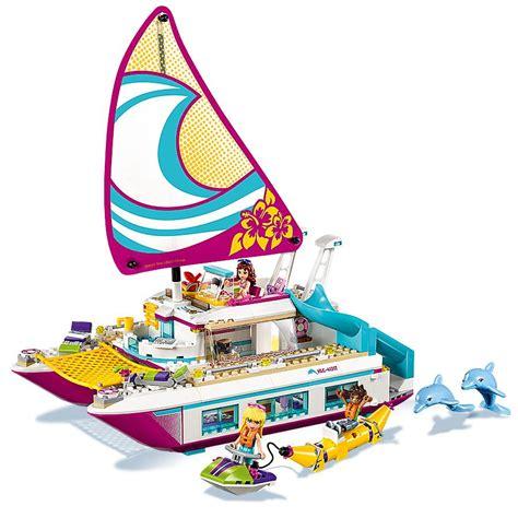 Boat Catamaran Lego by Lego Friends Catamaran Building Kit 603