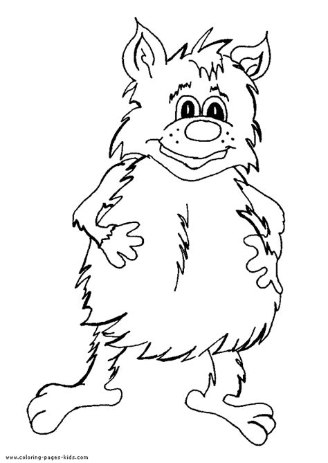troll giant color page printable coloring pages  kids