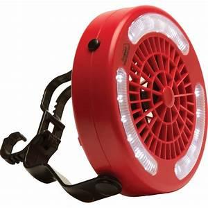 Texsport Mini Camp Fan  Led Light Combo