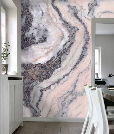 pink grey marble interior architecture bedroom decor