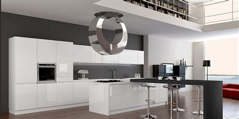 elevated kitchen designs diseno interior hi tech 3550