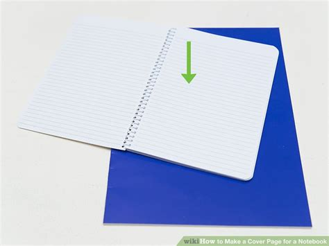 How To Make A Cover Page For A Resume by How To Make A Cover Page For A Notebook 14 Steps With