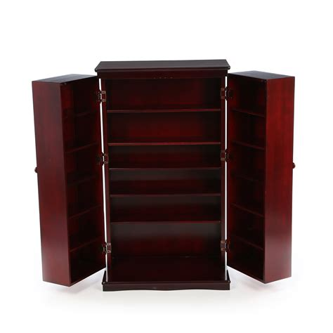 darby home co mitchell multimedia storage cabinet