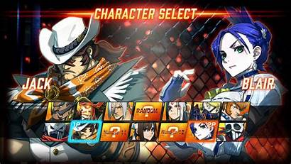 Ex Fighting Layer Fighter Street Character Screen