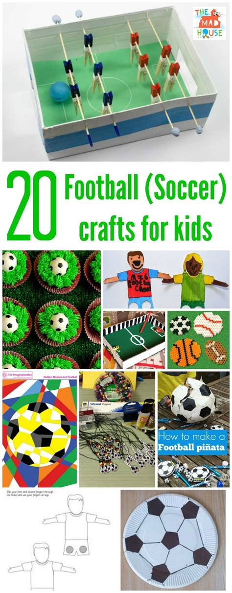 football crafts or soccer crafts in the madhouse 334 | twentyFootball Crafts or Soccer crafts for kids 870x2224
